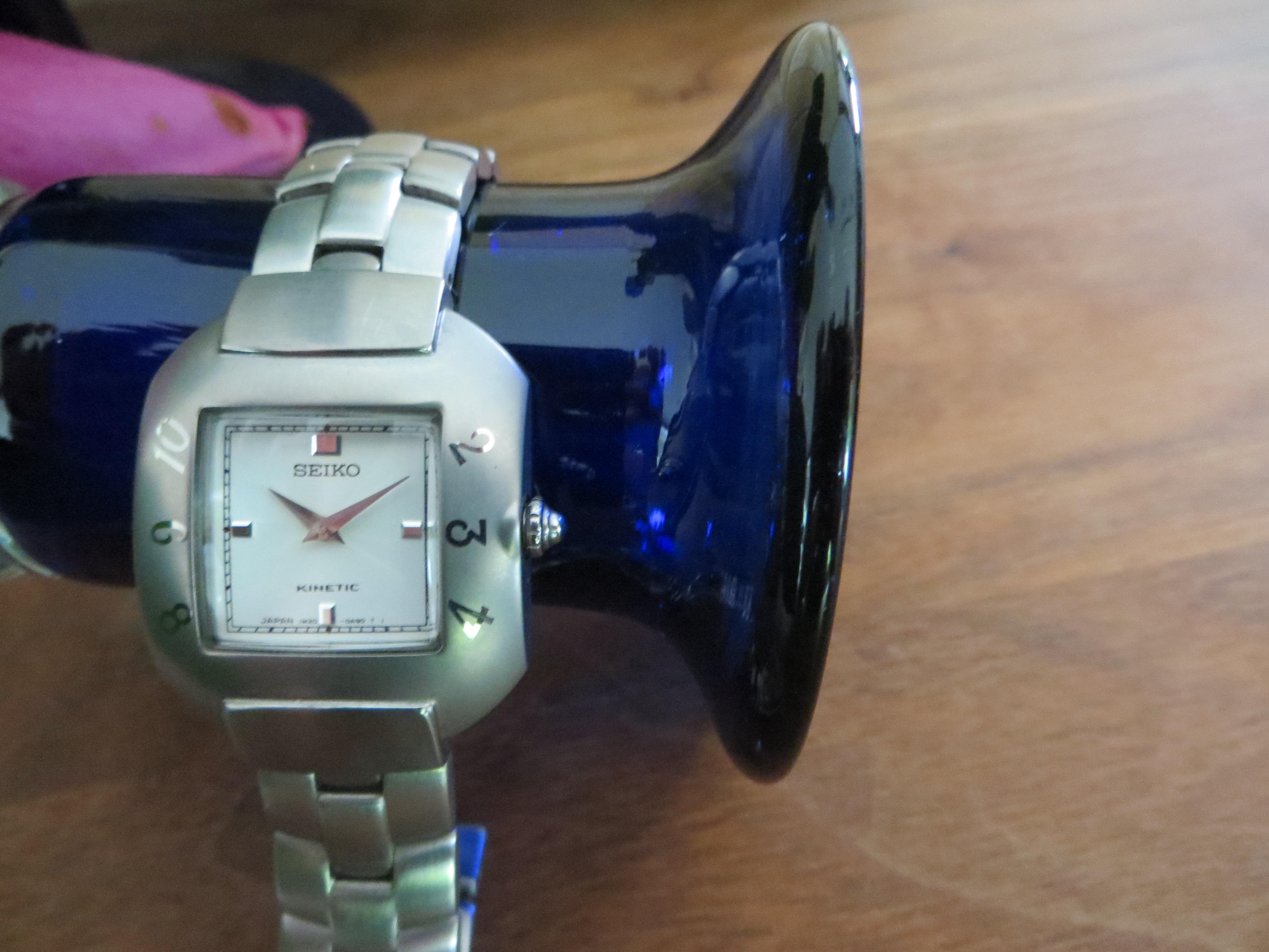 Uitgelezene Seiko Dames horloge Kinetic Design limited XE-39